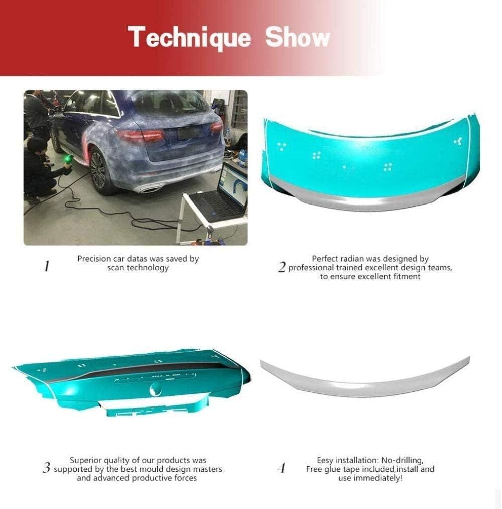 QMH Spoiler Bagagliaio in Fibra di Carbonio Adatto per BMW E82 1Er /& 1M Coup/é 2007-2013 Spoiler sul Tetto del Portellone Spoiler Posteriore