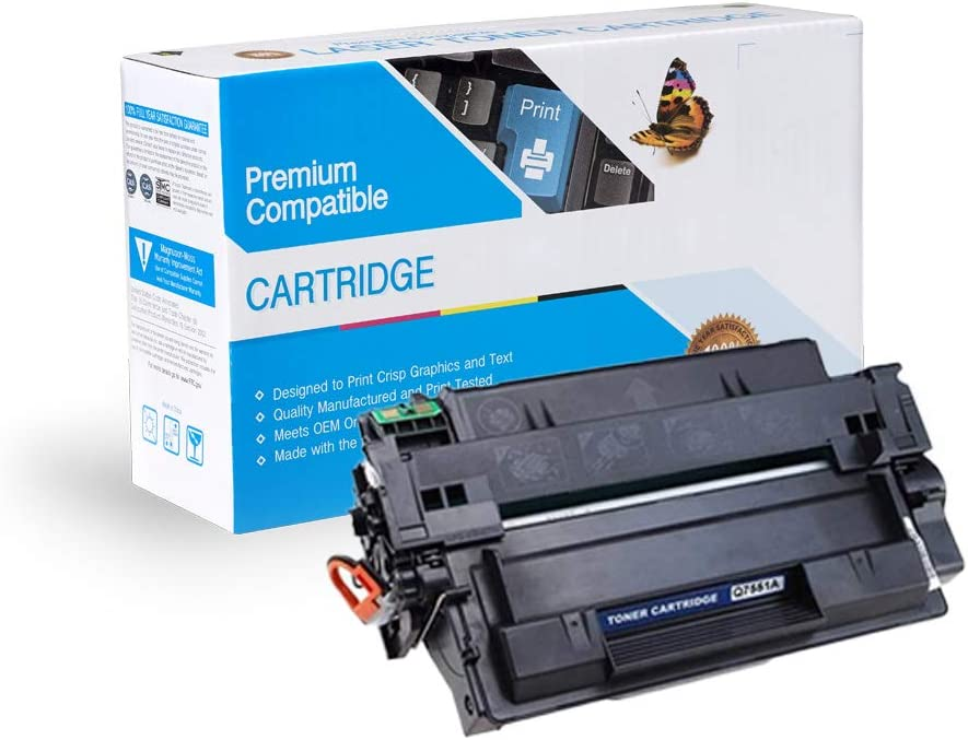 Black On-Site Laser Compatible Toner Replacement for HP Q7551A M3027X MFP M3035XS MFP M3027 MFP Works with: Laserjet P3005,/ P3005D,/ P3005DN,/ P3005N,/ P3005X M3035 MFP