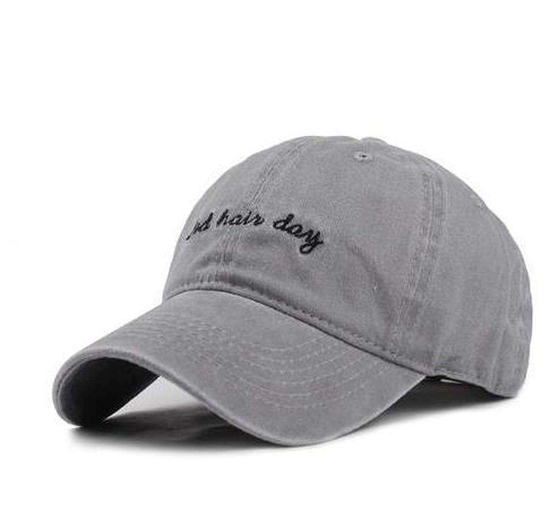 Vintage Bad Hair Day Adjustable Caps Washed Cotton Baseball Cap Men Casquette Snapback Cap Hat for Men