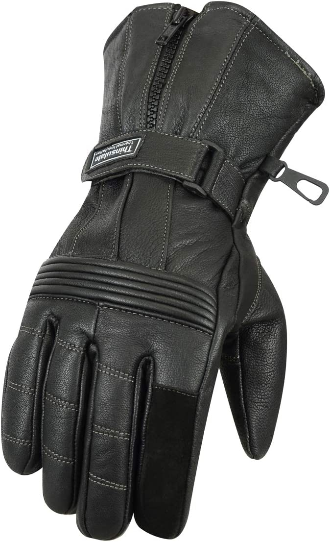 BOS Motorrad Handschuhe Winter 100/% Ziegenleder Motorradhandschuhe Mit 250g//㎡ Thinsulate M