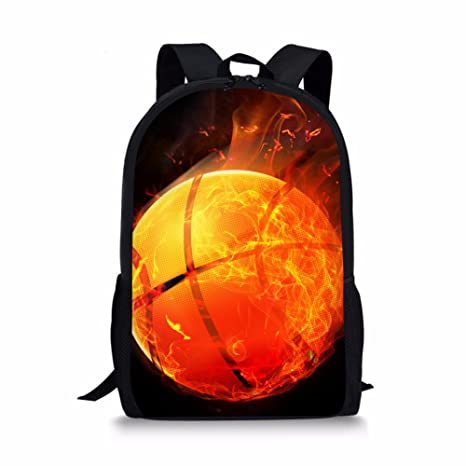 c752b2975c22 Coloranimal Stylish Kids Backpack Soccer Pattern Travel Shoulder School  Book Bags