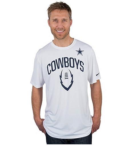 326ea3454b685 Amazon.com : Nike Dallas Cowboys Legend Icon Tee (White, XL) : Clothing