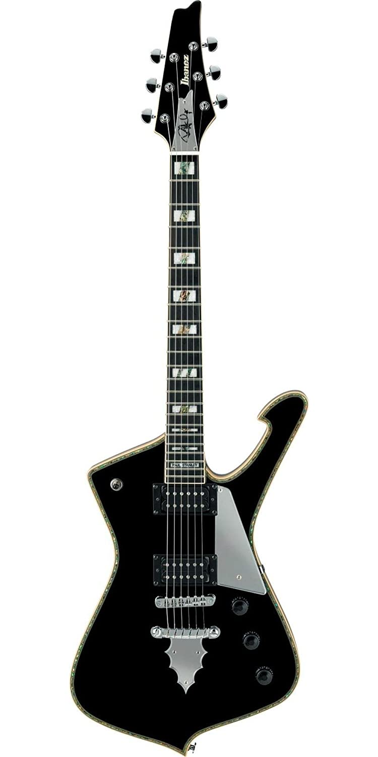 Amazon.com: Ibanez PS Series PS120 Paul Stanley Signature Electric Guitar  Gloss Black: Musical Instruments