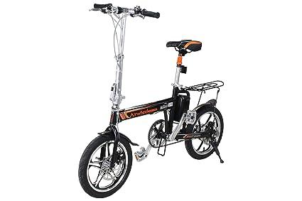 Airwheel R5- bicicleta eléctrica plegable, bici pedelec con gran alcance hasta