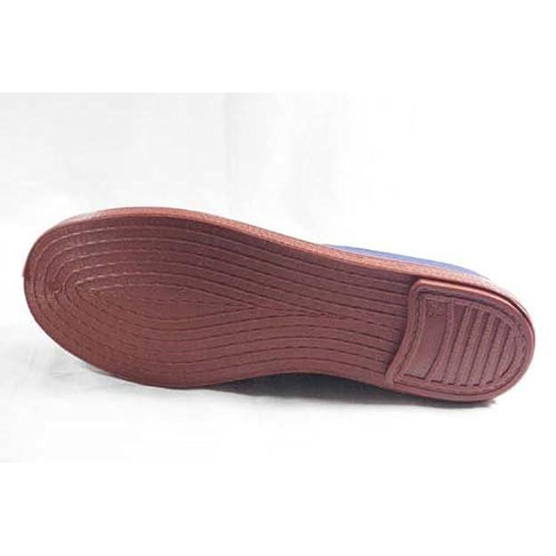 Zapatillas para Taichi kunfú y Yoga Irabia en Azul Marino: Amazon.es: Zapatos y complementos