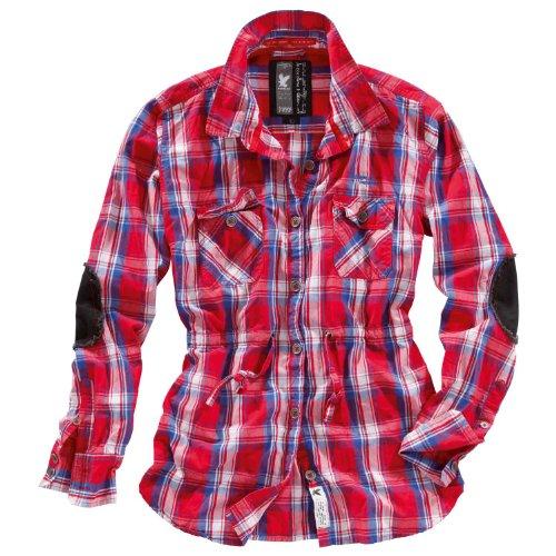 Surplus - Camisas - para mujer Red Blue