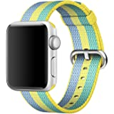 XMDirect ウーブンナイロン スポーツ ベルト 全機種対応 for Apple Watch Series 1 / Series 2 / Nike+ 【42mm、ポレン】
