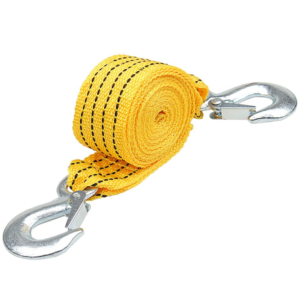 3 Meter Tow Strap, borte Heavy Duty Towing Belt up to 3 Tonne Towing Rope with Handle