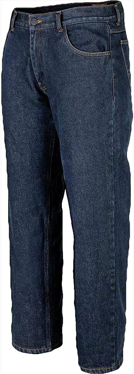 Cortech /'The Standard/' Mens Midnight Blue Riding Jeans With Kevlar Lining