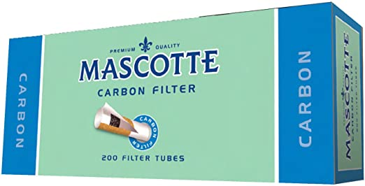 Mascotte Empty Cigarette Tubes 400 (Carbon Filter): Amazon.es: Hogar