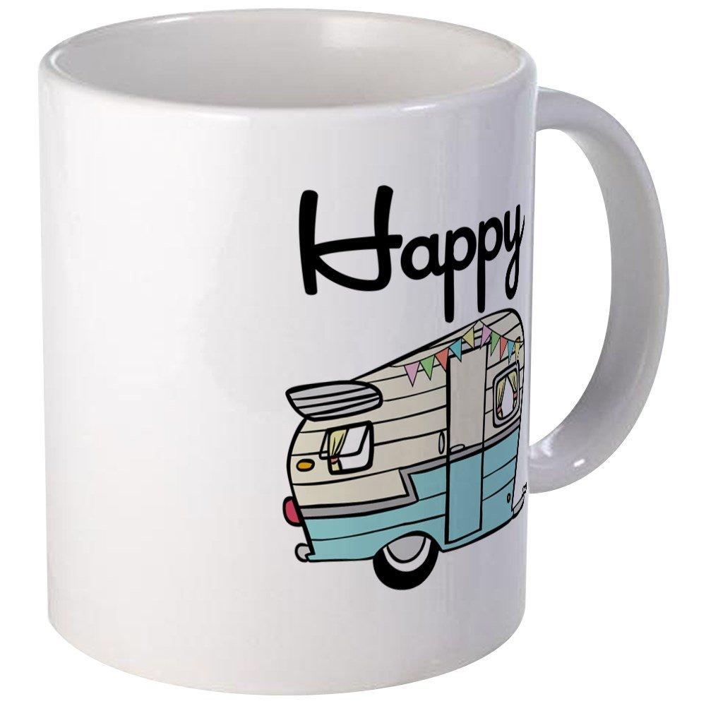 ee2e5bc425f Amazon.com: CafePress - Happy Camper Mugs - Unique Coffee Mug, Coffee Cup:  Kitchen & Dining