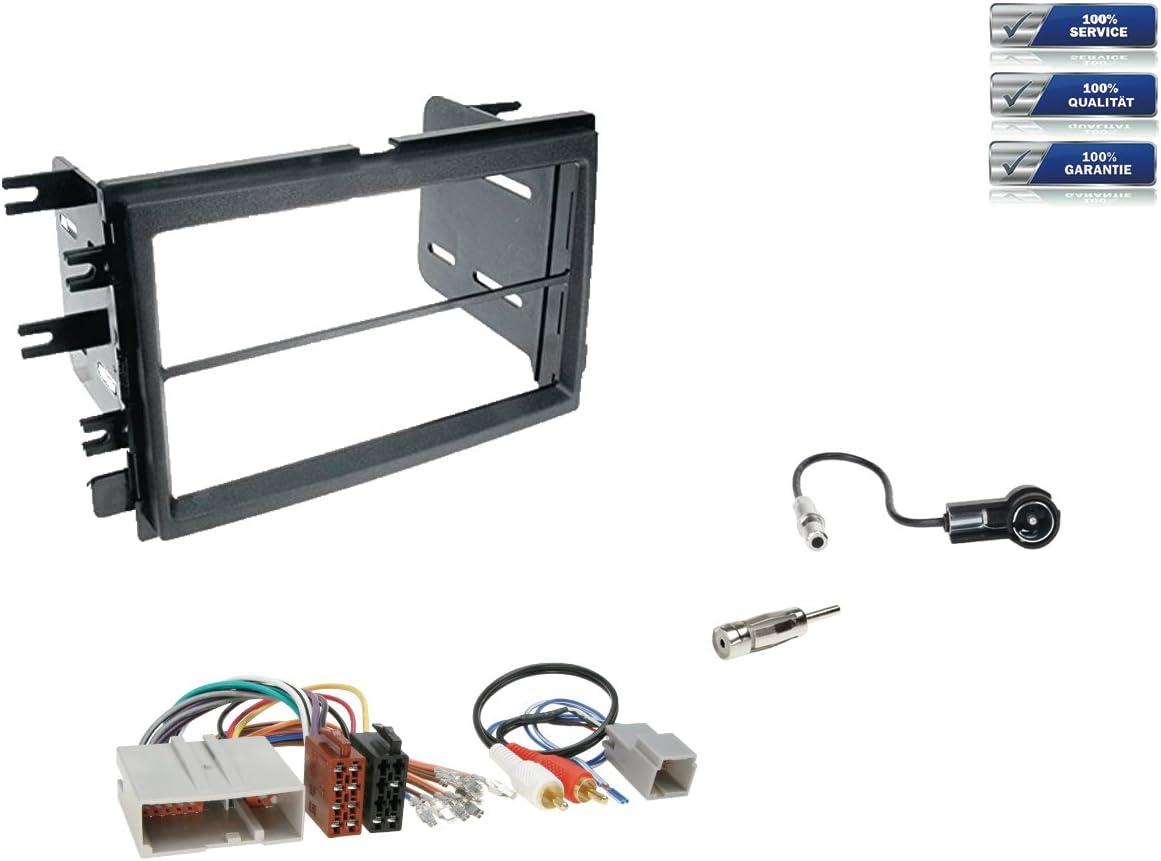 FORD F150 // MUSTANG; Auto Radio Blende Doppel-DIN 2-DIN bzw Einbau Rahmen