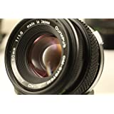 Olympus 50mm f/1.8 Manual Focus Auto-W OM Series Zuiko Camera Lens