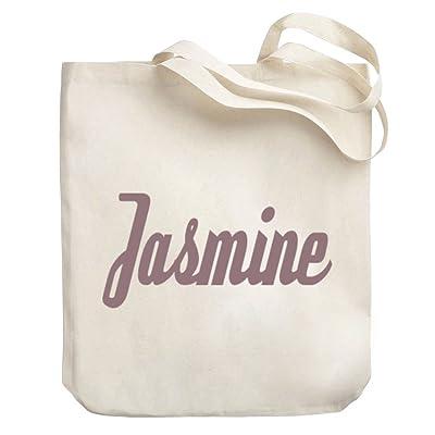 Teeburon Jasmine Canvas Tote Bag