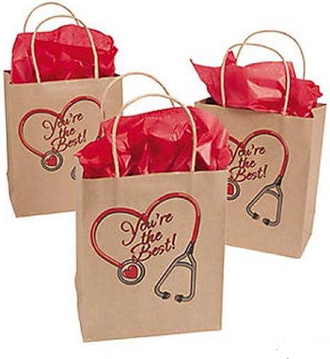 Amazon.com: Bolsas para enfermeras (1 docena): Arte ...