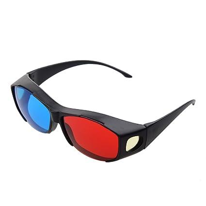 d72ebcdfbf SODIAL(R) Gafas 3D Anaglifo 3D Vision - Hechas para Encajar en Gafas  Graduadas