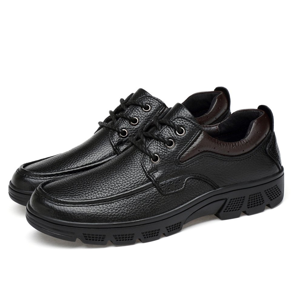 RONGLINGXING Herren Brogues Brogues Brogues Herrenmode Oxford Casual leicht Aseismatic Light Gürtel Laufsohle Formelle Schuhe (Warm Samtig Optional) 0fbb12
