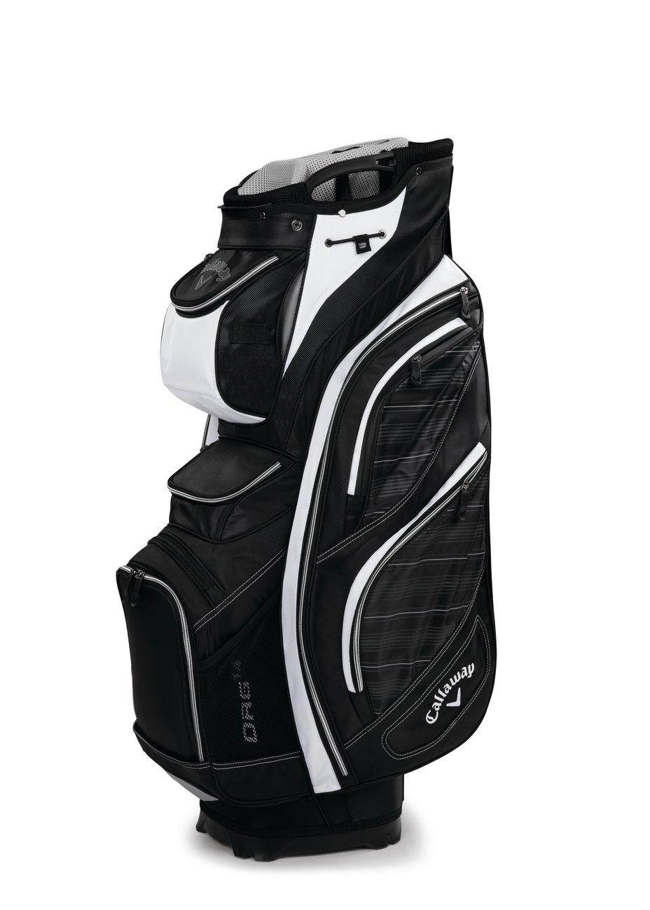 Callaway Org 14ゴルフカートバッグ B0185LPZF0 ブラック/グレー/ホワイト ブラック/グレー/ホワイト