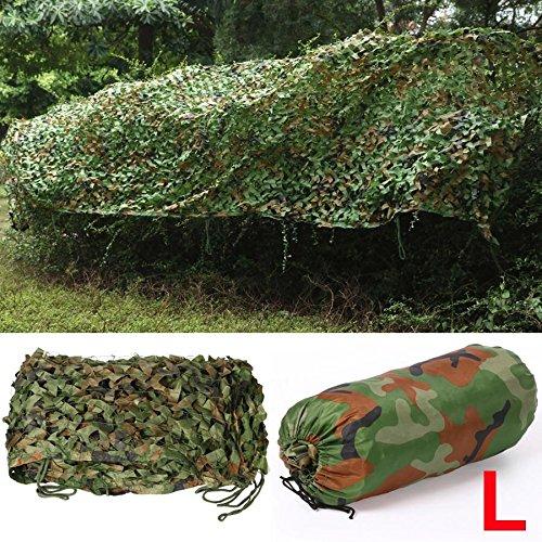 Yahee 7x1, 5 m Rete mimetica militare da caccia Copertura per auto Campeggio in giungla foresta camuffamento
