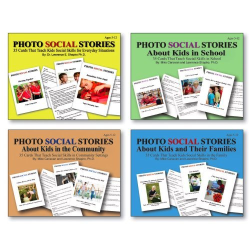Photo Social Stories Card Set of 4 by Childswork / Childsplay