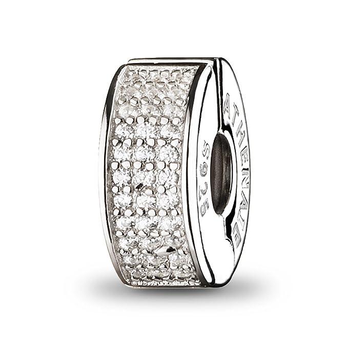 2 opinioni per ATHENAIE 926 d'argento della clip Pavimentazione Pavimentazione Luce elegante