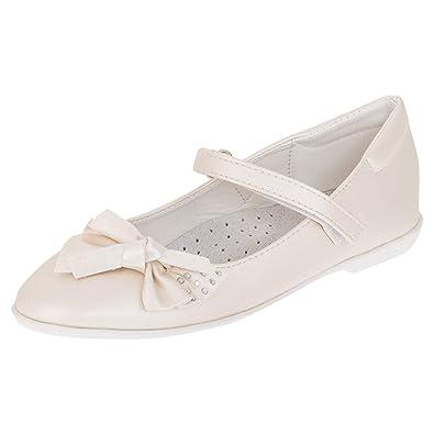 e96f49829f0da3 Giardino Doro Edle Festliche Kinder Mädchen Schuhe Ballerinas mit Leder  Innensohle in verschiedenen Farben  Amazon.de  Schuhe   Handtaschen