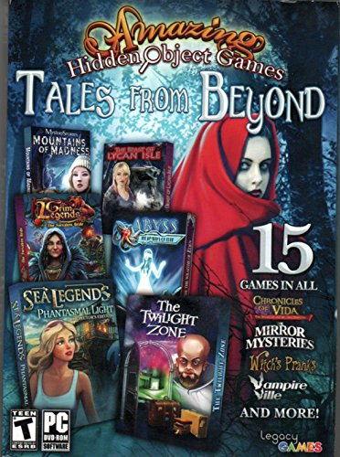 Free Amazing Hidden Object Games TALES FROM BEYOND 15 Games THE TWILIGHT ZONE