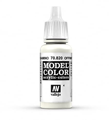 f7ff2149f6be2 Vallejo White Model Color 1 Paint, 17ml