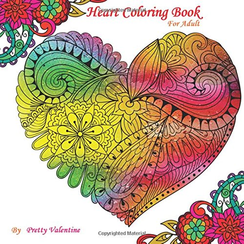 Amazon.com: Heart Coloring Book For Adult: Gorgeous Heart ...