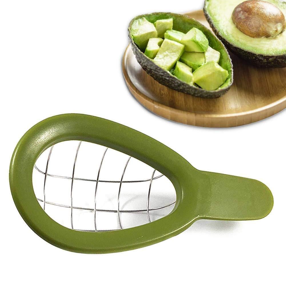 Go Cart Go Avocado Slicer Shea Corer Butter Peeler Fruit Cutter Pulp Separator Plastic Knife Kitchen Vegetable Tools by Go Cart Go