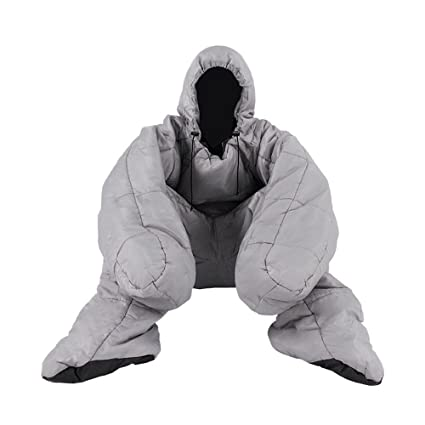ZXQZ Saco de dormir momia/Impermeable/Adulto Acampar al aire libre que camina/