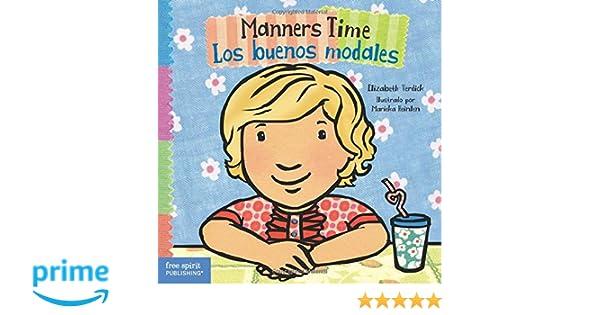Manners Time / Los buenos modales (Toddler Tools) (English and Spanish Edition): Elizabeth Verdick, Marieka Heinlen: 9781631981203: Amazon.com: Books