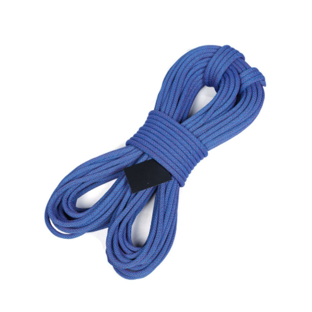 Bleu Rock climbing ropes Cordes d'escalade en Plein Air Fire Escape Sécurité Corde De Sauvetage Corde De Descente Usure Aérienne,Orange-10m12mm 50m10.5mm