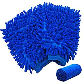 Splaks Chenille Car Wash Mitt