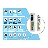 EBL 16 Sets AA AAA Batteries Combo with 8PCS AA