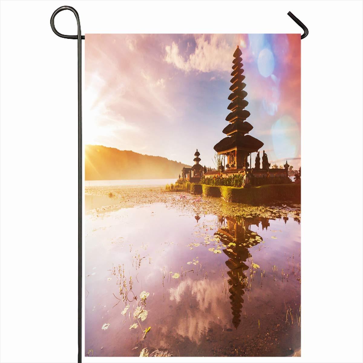 Amazon.com: Ahawoso - Bandera de jardín de 12 x 18 pulgadas ...