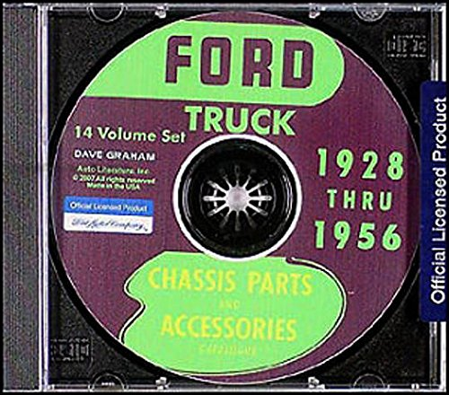 FULLY ILLUSTRATED 1928 1929 1930 1931 1932 1933 1934 1935 1936 FORD MOTORS FACTORY TRUCK & PICKUP MASTER PARTS & ACCESSORIES CATALOG - MANUAL CD-ROM -