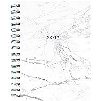 Marble Medium 2018-2019 Weekly Monthly Planner