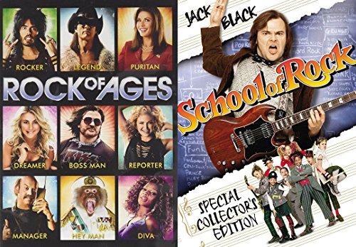 ROCK YO' FACE OFF- Rock of Ages / School of Rock 2-Pack DVD Set
