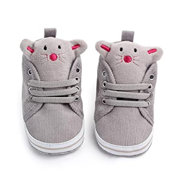 b34ecae225bea Cute Cartoon Doll Canvas For Newborn Baby Girls Solid Color Soft Sole Shoes  Sneaker Anti-