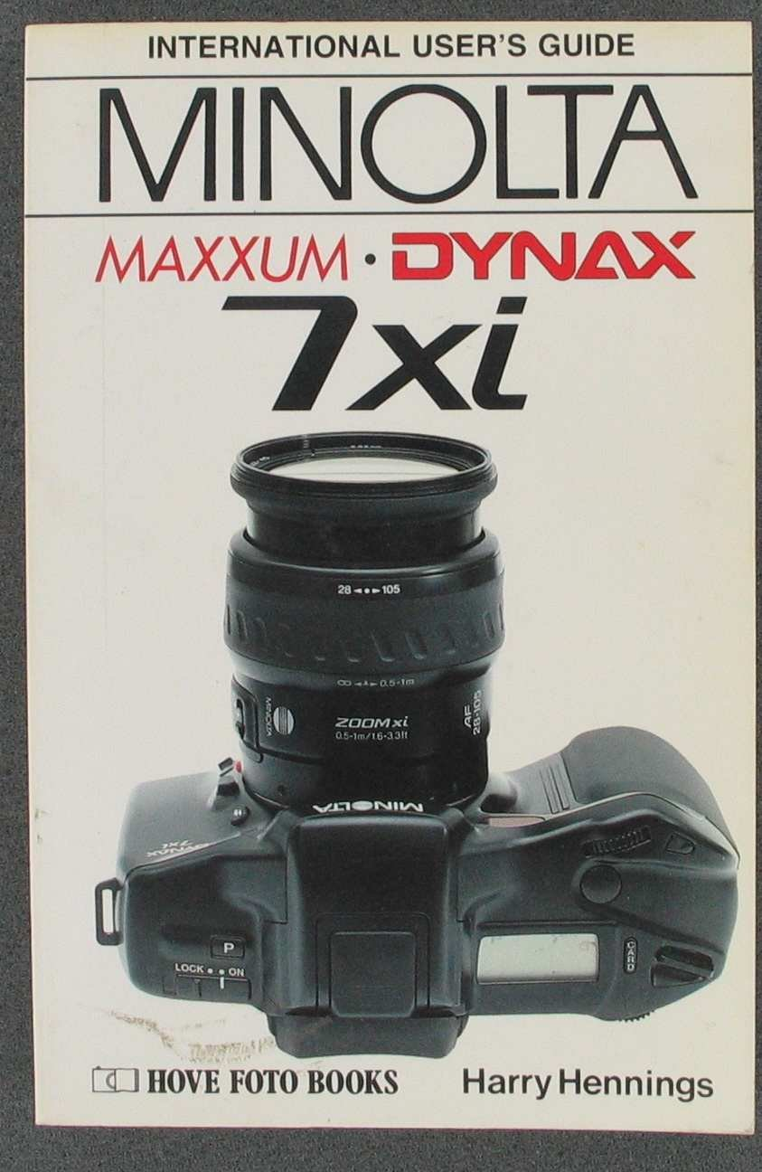 Amazon | Minolta Dynax/Maxxum 7XI (Hove User's Guide) | Heiner Henninges,  Petra Kopp | Equipment