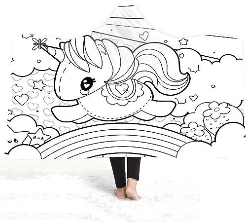 YiWu Toalla con Capucha Absorbente, Mini Costura (Color : 5, Size : 200 * 150): Amazon.es: Hogar