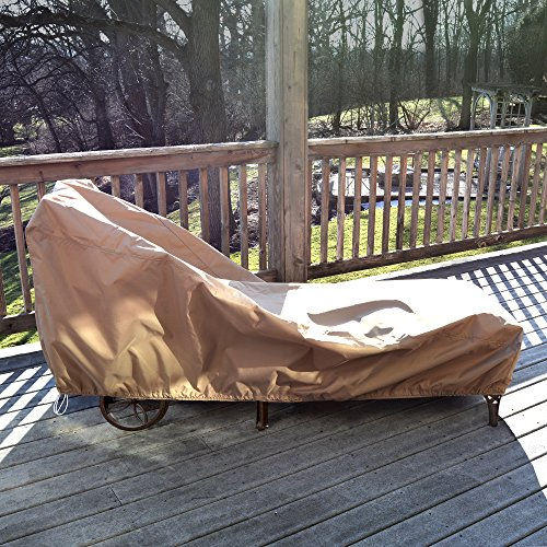 Island Lounger (Island Umbrella NU5642 All-Weather Protective Cover for Single Chaise Lounge)