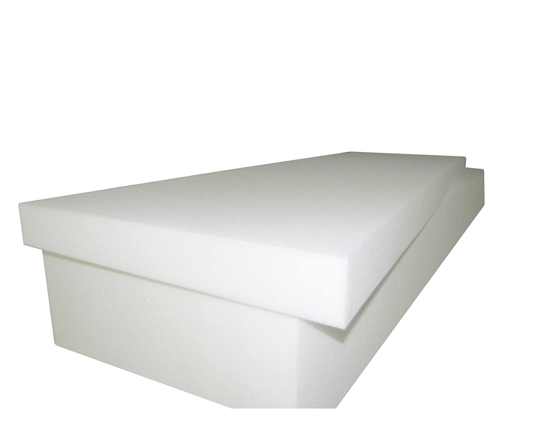 1850 Upholstery sheet Foam High Density Foam 6T x 22W x 80L EXTRA FIRM Sofa Seat Replacement Foam Cushion Foam Padding Seat Cushion