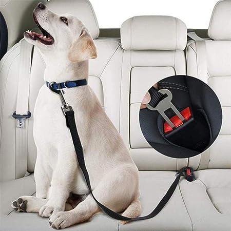 Rysmliuhan Shop Anschnallgurt Hund Auto Sicherheitsgurt Hunde Im Auto Auto Reisezubehör Für Hunde Hundefesseln Für Auto Hund Auto Sicherheitsgurt Hundegeschirr Black Küche Haushalt