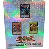 YuGiOh Legendary Collection 10th Anniversary Special Pack (Includes Original 3 GOD Cards Promos!) with Egyptian-Style 3-Ring Binder