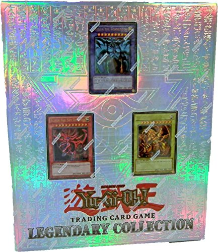 Konami Yu-Gi-Oh Legendary Collection 10th Anniversary Special Pack with Egyptian-Style 3-Ring Binder (Yugioh Blue Eyes White Dragon Deck Build)