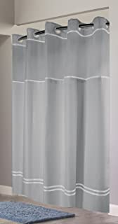 hookless rbh40my041 monterey shower curtain greywhite