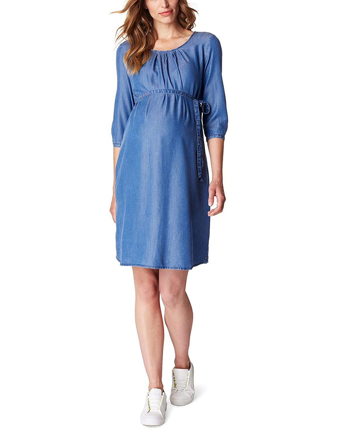 ESPRIT Maternity Damen Umstandskleid Dress Denim