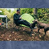 STANSPORT - Deluxe 4 Leg Camping Stool, Compact